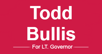 Todd Bullis for LT. Governor of Texas